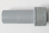 Polyplumb Push Fit 22mm Fitting to 15mm Pipe Reducer - 29P06022